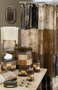 Zambia Shower Curtain & Bathroom Accessories