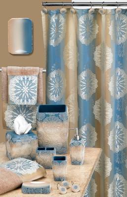 Fallon Shower Curtain & Bathroom Accessories
