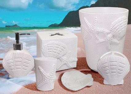 Shells Bathroom Accessories