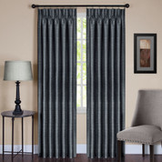 Parker Pinch Pleated Drape panel - Slate