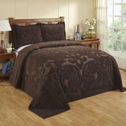 Ashton Bedspread Queen - Chocolate