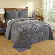 Ashton Bedspread Queen - Grey