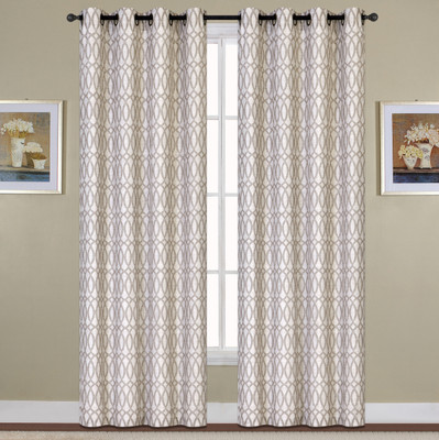 Oakland Grommet Top Curtain - Mocha