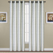 Oakland Grommet Top Curtain - Platinum