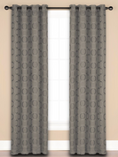 Halo Grommet Top Curtain Panel - Mink from Saturday Knight on Linens4Less.com