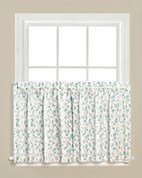 "Gentle Wind kitchen curtain 24"" tier from Saturday Knight"