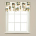Nature's Hope Kitchen Curtain valance from Saturday Knight