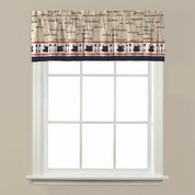 Cafe Coffee kitchen curtain valance