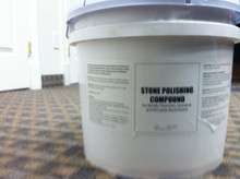 Marble Polishing Compound 25lb Bucket