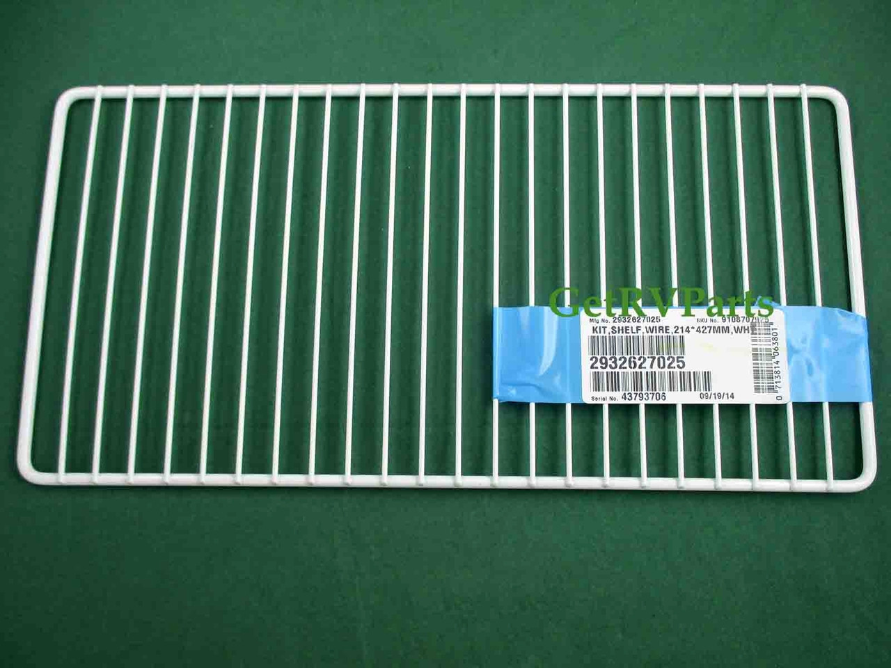 Dometic 2932627025 Rv Refrigerator Wire Freezer Shelf White