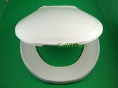 Thetford 34144 RV Toilet Seat and Lid White