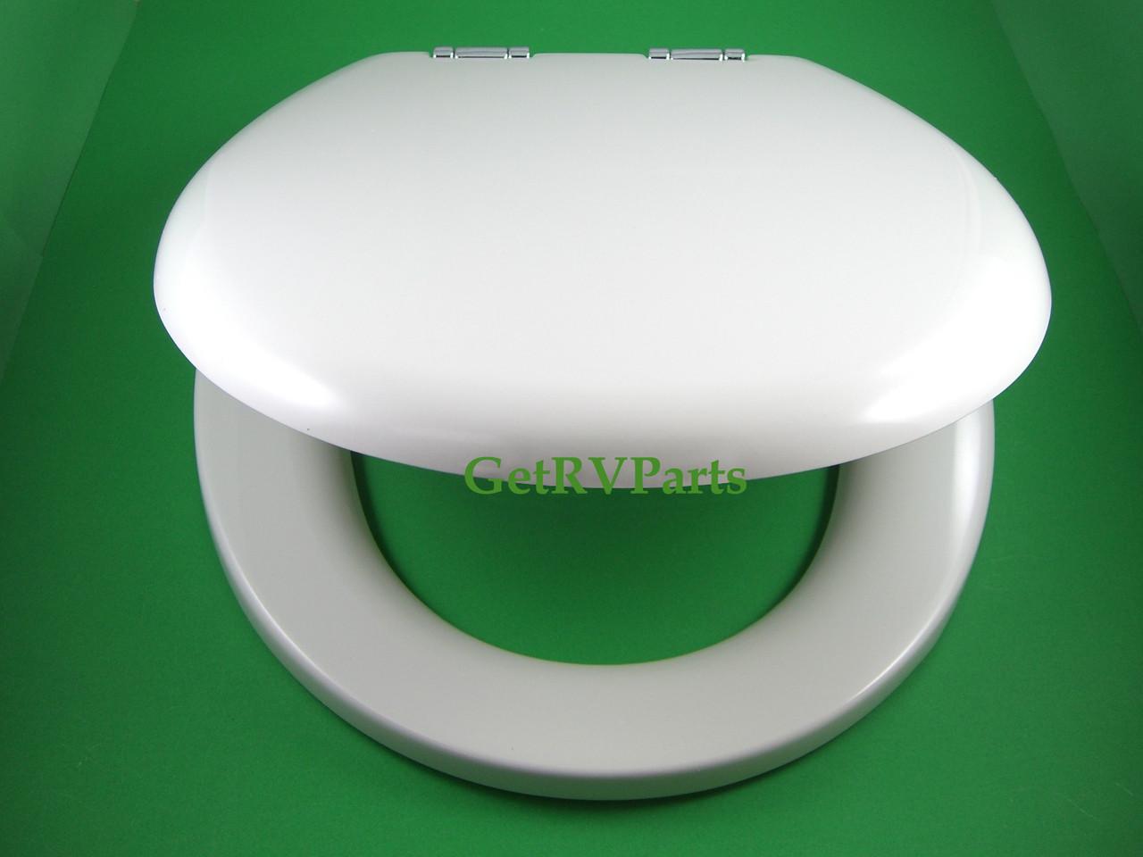 Thetford   36503   RV Toilet Seat and Lid Bone Tecma