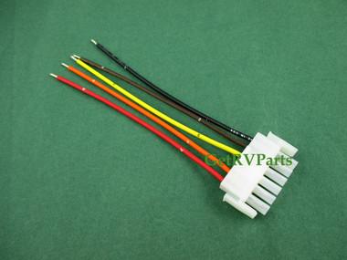 onan 338 2046 cummins rv generator remote pigtail harness