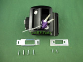 Global | 013-570 | RV Travel Trailer Entry Door Entrance Lock Assembly Black