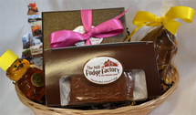 Mother's Day Gift Basket with Fudge, Truffles, Toffee and more! (Free Shipping Nationwide)