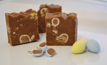 Cadbury Mini Eggs Easter Fudge