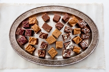 Customized Eight Slice Fudge Party Sampler