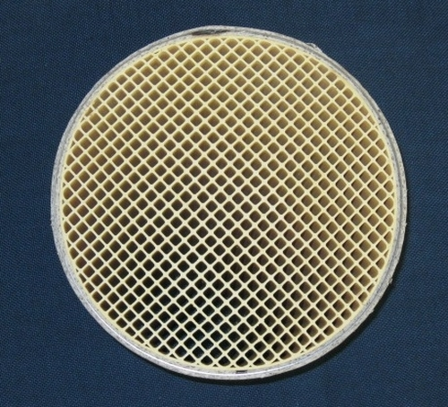 "Condar 25 Cell 6"" x 2"" Round Canned Catalytic Combustor (CC-001)"