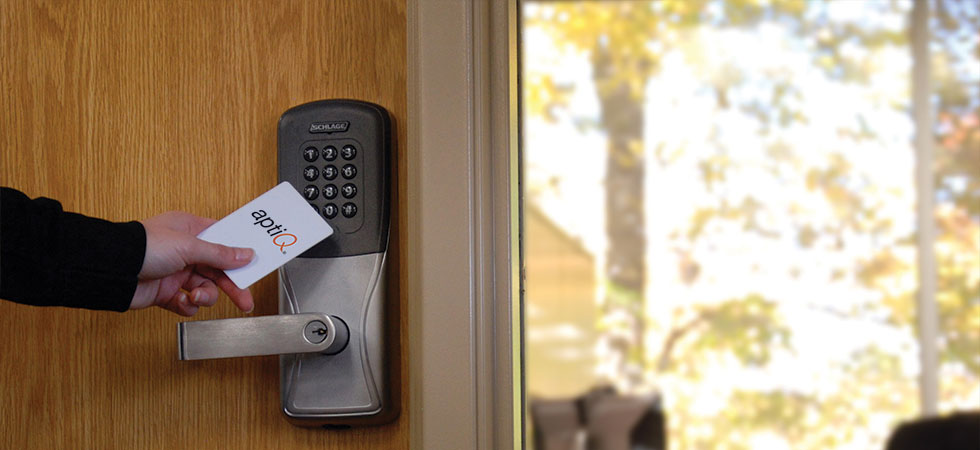 KEYLESS ENTRY, MULTI TECHNOLOGY READERS  From Schlage