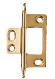 Hafele Decorative Cabinet Hinge, Polished Brass- 351.95.880