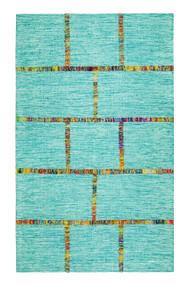Aditi Flatweave Blue Area Rug  - 8' x 10'