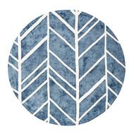 Alder Blue Rug - 6' Round