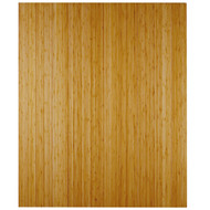 """Bamboo Deluxe Roll-Up Chairmat, 43"""" x 48"""", no lip - Natural"""