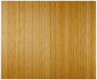 """Bamboo Deluxe Roll-Up Chairmat, 60"""" x 48"""", no lip - Natural"""