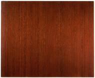 "Bamboo Deluxe Roll-Up Chairmat, 60"" x 48"", no lip - Dark Cherry"