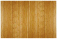 """Bamboo Deluxe Roll-Up Chairmat, 72"""" x 48"""", no lip - Natural"""