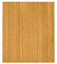 "Bamboo Roll-Up Chairmat, 42"" x 48"", no lip - Natural"