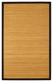 Contemporary Natural Bamboo Rug - 4' x 6'