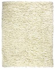 Crème Paper Shag Rug - 5' x 8'