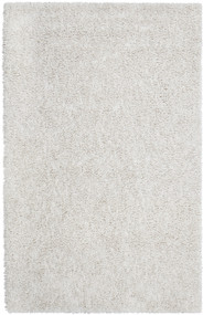 Ivory Silky Shag Rug - 9' x 12'