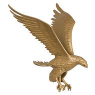 Whitehall 46  Eagle Weathervane - Gold-Bronze - Aluminum