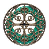 Whitehall Perrault Hose Holder - French Bronze - Aluminum