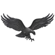 "Whitehall 36"" Wall Eagle - Black - Aluminum"