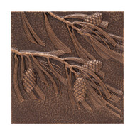 Whitehall Pinecone Wall Décor - Antique Copper - Aluminum