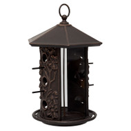Whitehall Dogwood Birdfeeder - Oil Rubbed Bronze - Aluminum