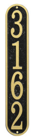 Whitehall Fast & Easy Vertical House Numbers Plaque