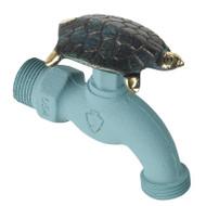 Whitehall Turtle Faucet Verdigris