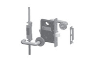 Schlage Multipoint Hurricane LM9300 Series 3 Point Lock - Standard Collection Lever