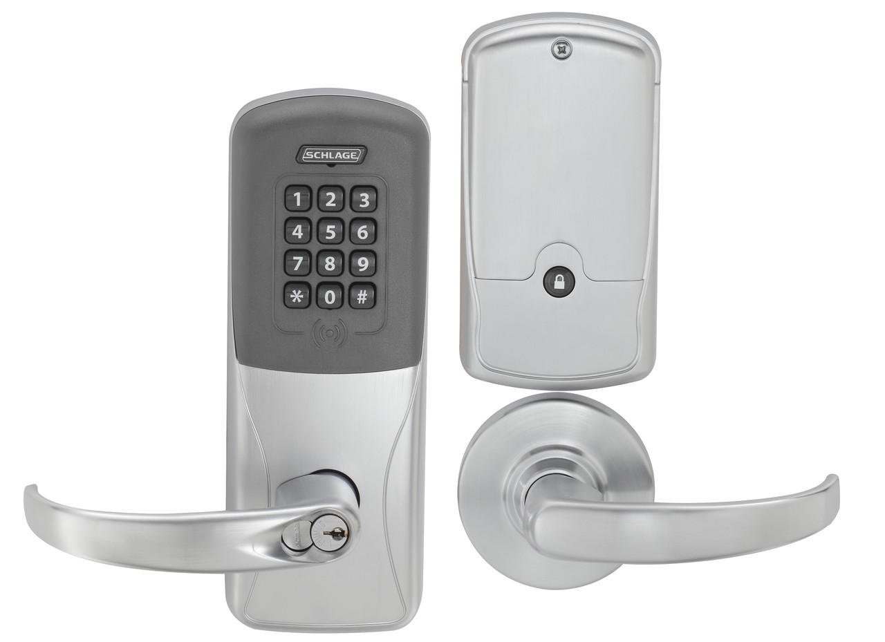 Stunning Schlage Electronic Door Handle Images Plan 3d
