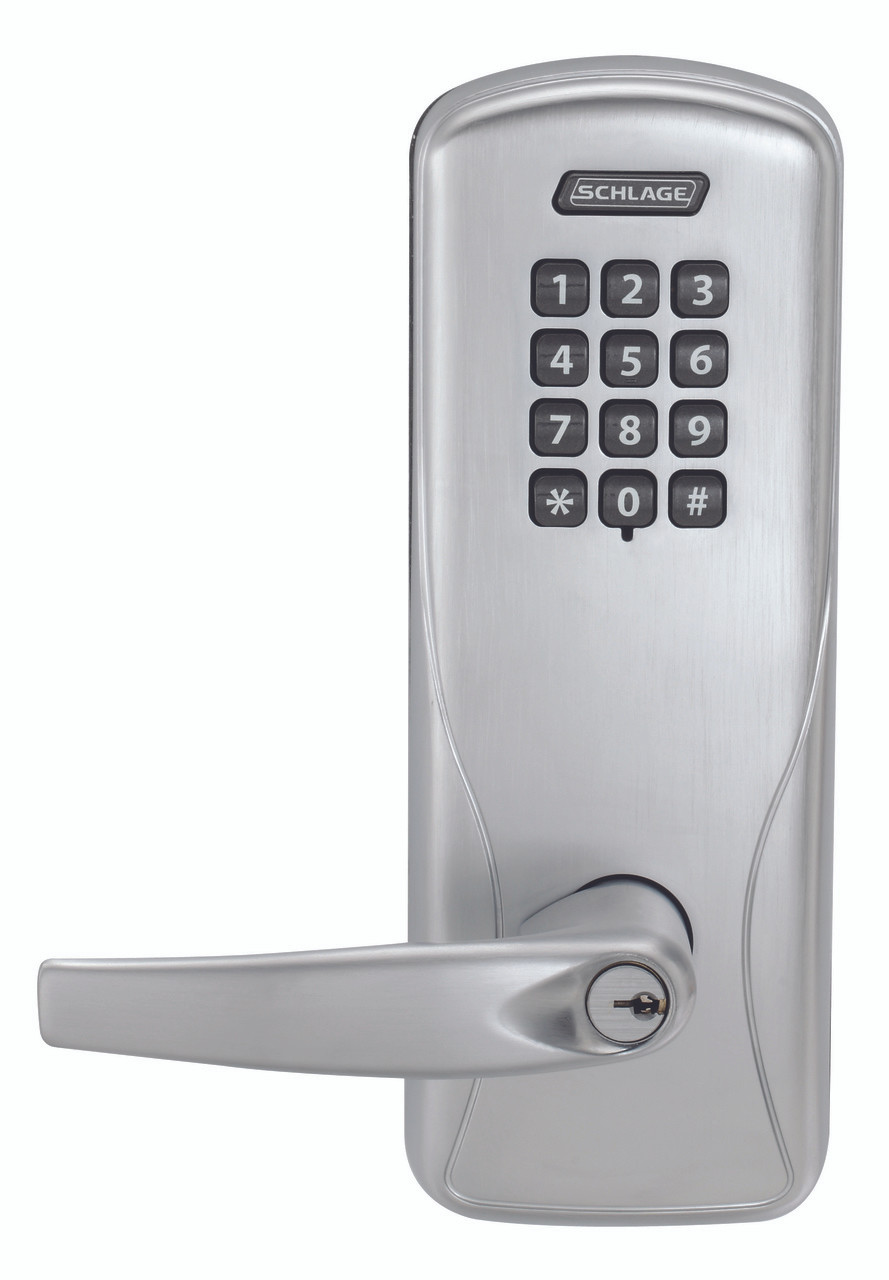 Schlage Electronic Co 100 Series Rights On Lock Manually