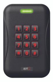 "aptiQ""¢ Multi Technology Readers MTK15 €"" Single Gang with Keypad Wall Mount (MTK15)"