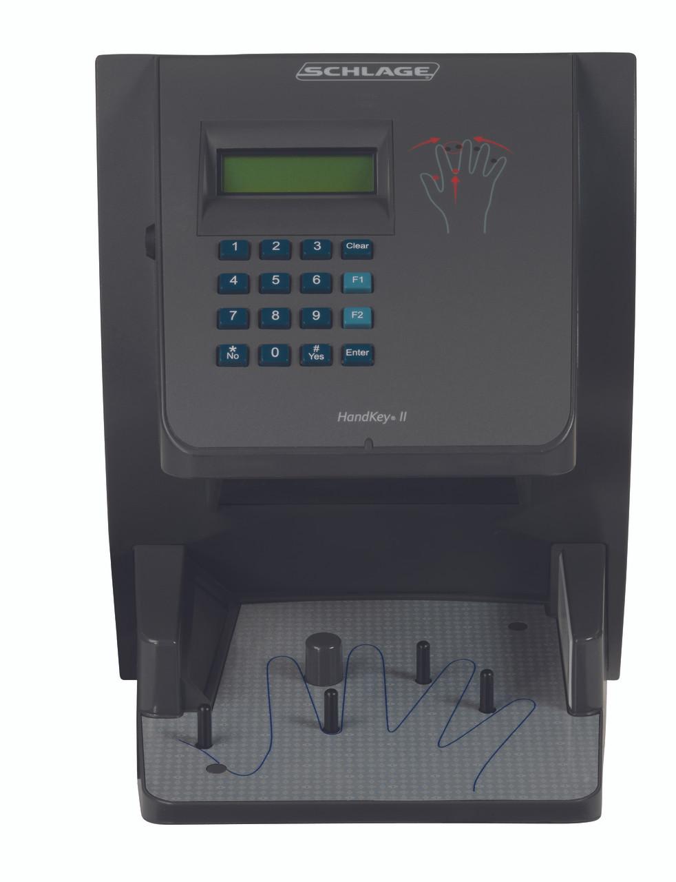 schlage handkey ii biometric handreaders electronic access terminals rh lockandhinge com schlage handkey ii user manual schlage handkey ii manual