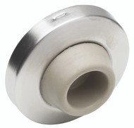 Ives Wall Bumpers Wall Bumpers Concave Rubber Bumper, Avoids Damage to Locks with Projecting Buttons, Packed with Wood Screw and Plastic Anchor - WS406CCV