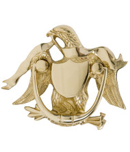 BRASS Accents Eagle Door Knocker 5-7/8""