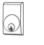 Escutcheon Mortise Cylinder