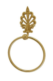 BRASS Accents European Towel Ring (B04-C5270)